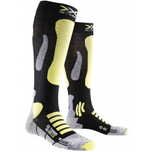 Ski Touring Silver Long Black/Yellow Sunshine