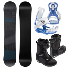 Snowboardový set General + FT 270 blue + Scout LYT BOA,