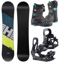 Snowboardový set SPR Junior 19/20 + Interchanger + 500 4D Boa,
