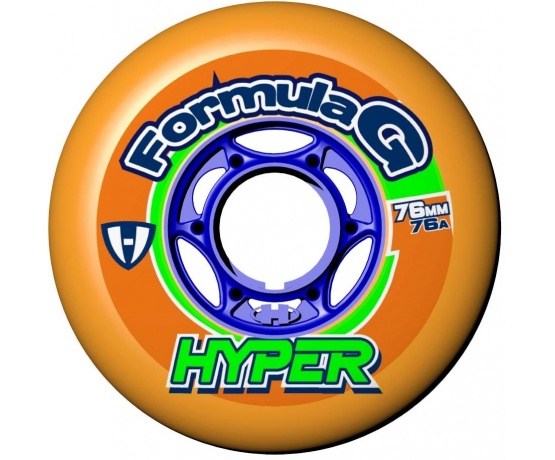 Formula G Era 76mm/76A Orange, 4pck
