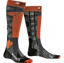 Ski Rider 4.0 Stone Grey Melange/X-Orange