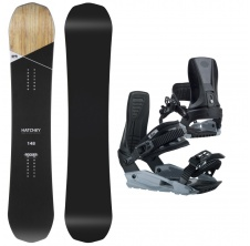 Hatchey Snowboardový set Wild + MP180,
