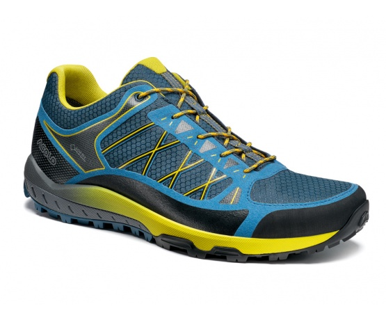 Grid GV MM indian teal/yellow/A898