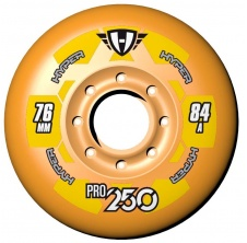 Pro 250 76mm/84A Orange, 4pck