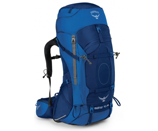Aether AG 70l neptune blue