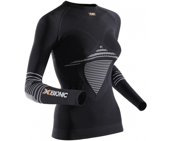 Energizer MK2 Shirt LS Round Neck Women Black/White