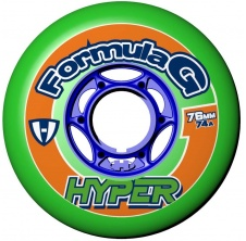 Formula G Era 72mm/74A Green, 4pck