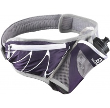 Sensibelt purple velvet/white