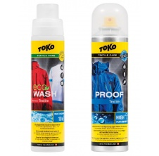 duo pack TOKO textile proof 250/ textile wash 250