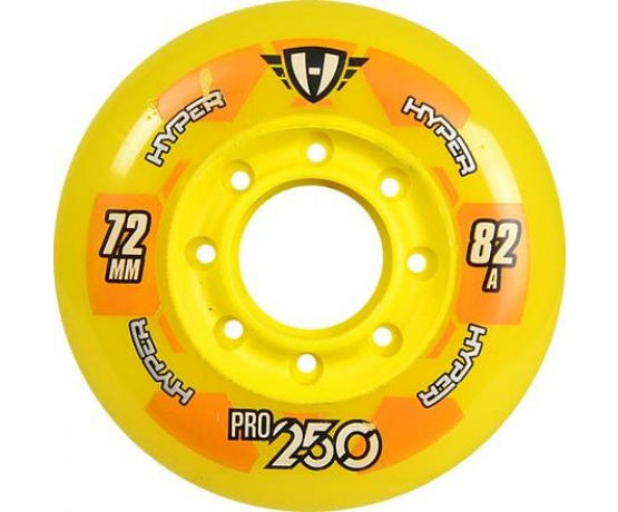 Pro 250 72mm/82A Yellow, 4pck