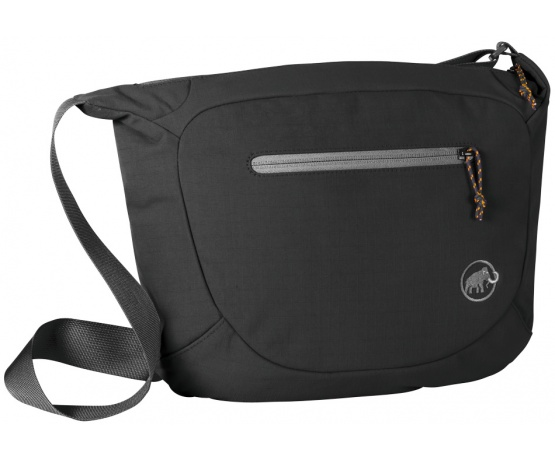 Shoulder Bag Round 4l Black