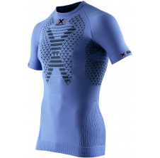 Twyce Running Shirt Short Sleeves Men French Blue/Black