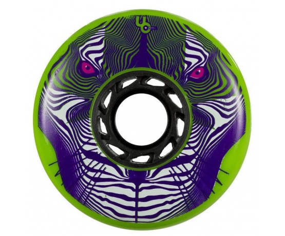 Tiger Green 80mm/86A, 4pck