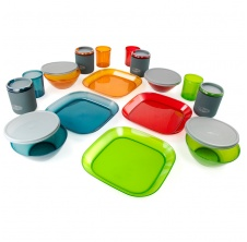 Infinity 4 Person Deluxe Tableset, Multicolor