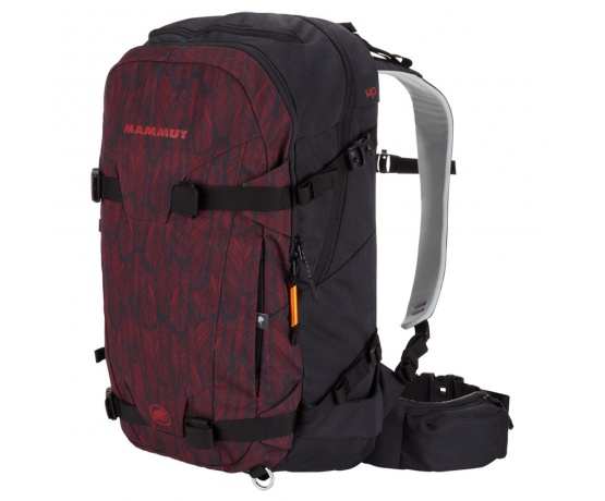 Nirvana 30l Scooter-Red