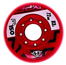 Pro 150 72mm/83A Red, 4pck