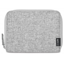 peněženka RFIDSAFE LX150 PASSPORT WALLET tweed grey