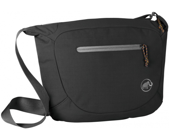 Shoulder Bag Round 8l Black