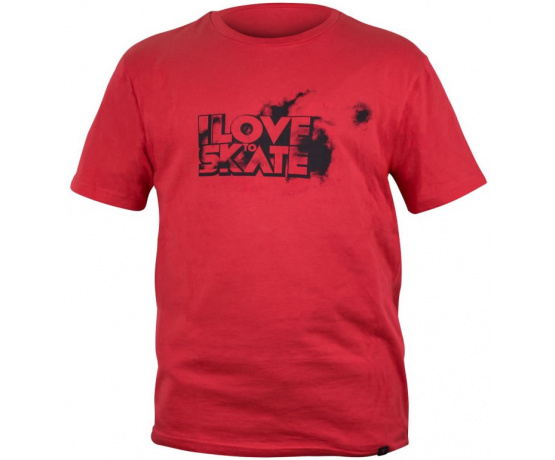 I Love To Skate Shirt Red