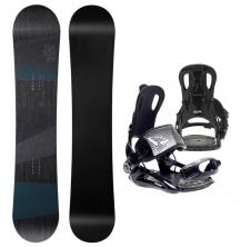 Hatchey Snowboardový set General + FT270 black,