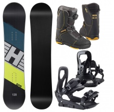 Snowboardový set SPR Kid 19/20 + Interchanger + 400 4D Boa,