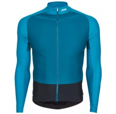 Essential Road Mid LS Jersey Antimony Multi Blue