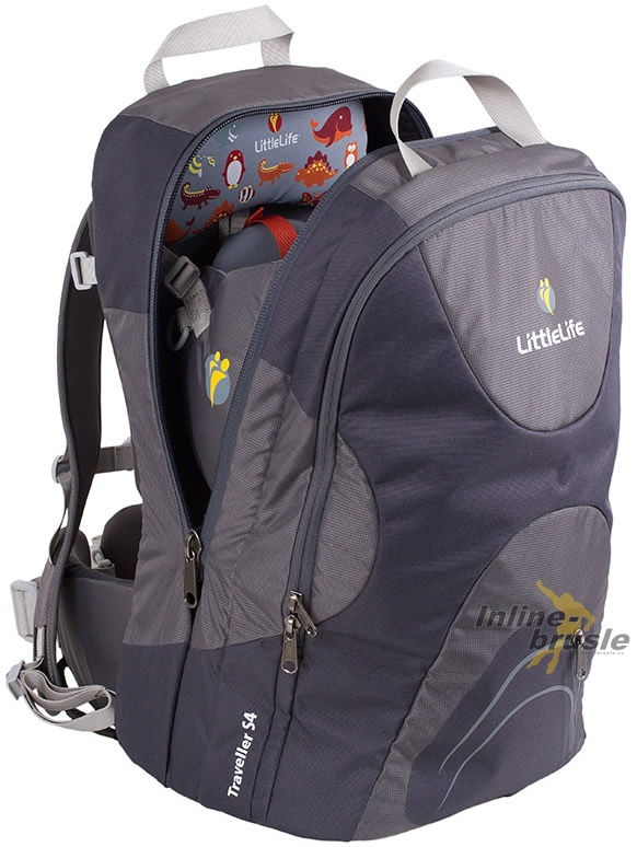 Traveller S4 Child Carrier Grey