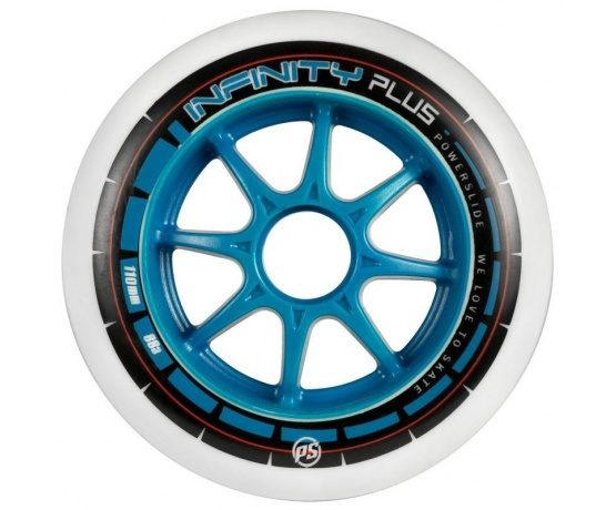 Infinity Plus Blue 110mm/88A-70A, 4pck