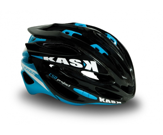 přilba KASK Vertigo black/light blue M/54-58cm