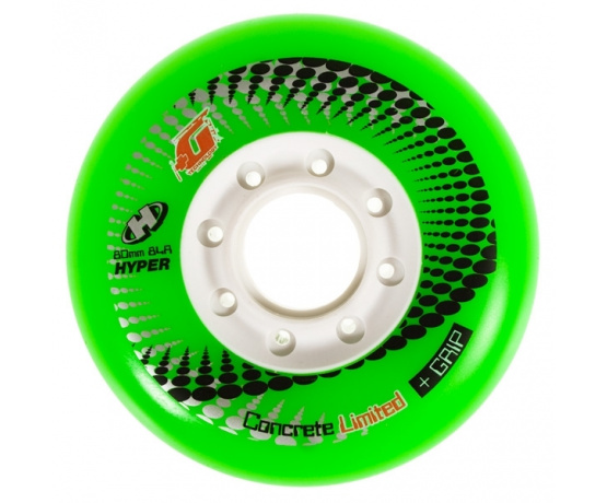 Concrete +G LTD 80mm/84A Green, 4pck