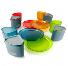 Infinity 4 Person Compact Tableset, Multicolor
