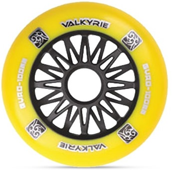 Valkyrie 84mm/83A Yellow, 1pck