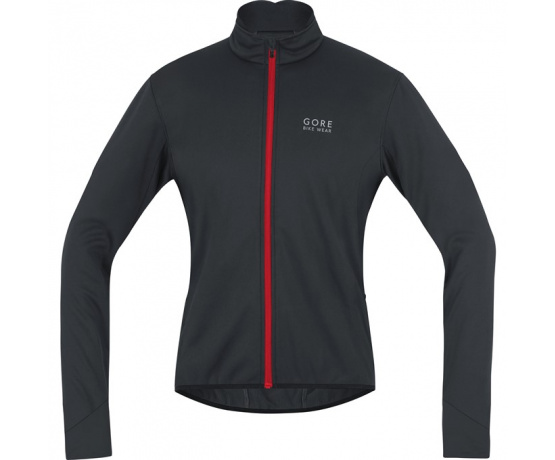 GORE Power 2.0 WS Soft Shell Jacket-black/red-XL