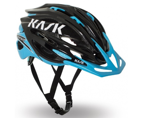 přilba KASK Vertigo XC black/light blue M/55-58cm