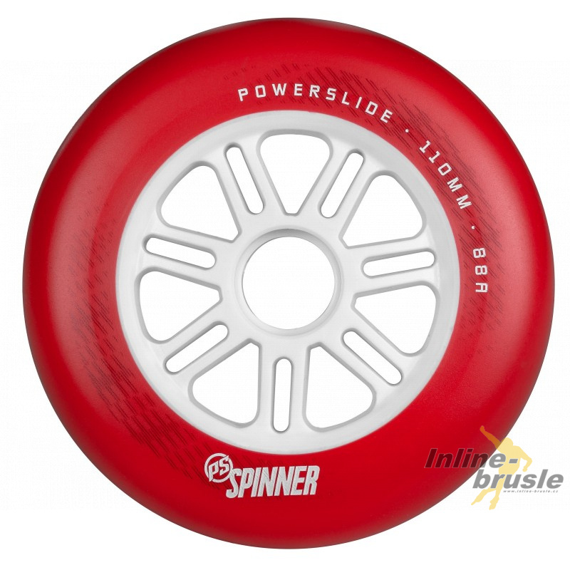 Spinner Red 100mm/88A, 1pck