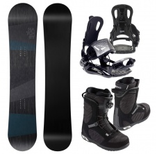 Snowboardový set General + FT 270 black + Scout LYT BOA,