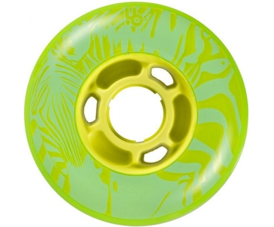 Zebra Green 84mm/88A, 4pck