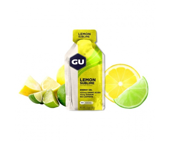 GU Energy Gel 32 g - Lemon Sublime 1 SÁČEK (balení 24ks)