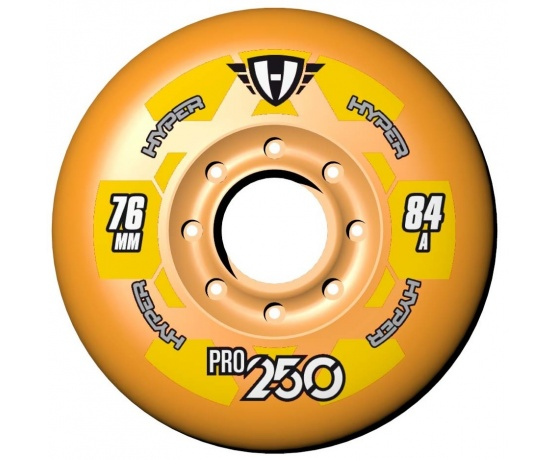 Pro 250 80mm/84A Orange, 4pck