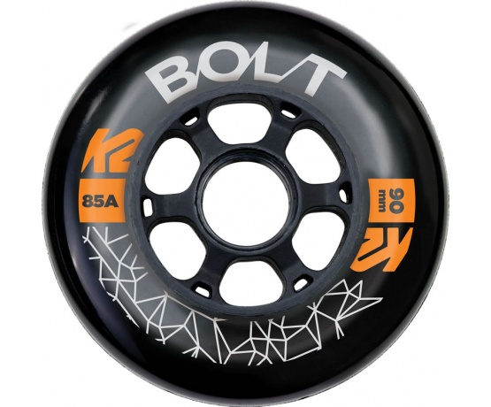 Bolt 90mm 85A 8ks + ložiska ILQ 9 + spacery 6mm