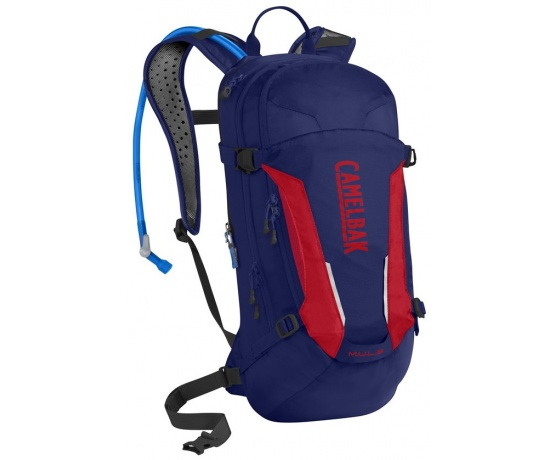 Mule 9l - Pitch Blue/Racing Red