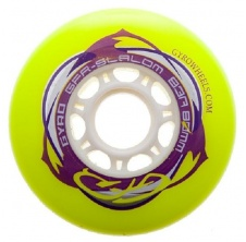 GFR Slalom 72mm/83A Yellow, 1pck