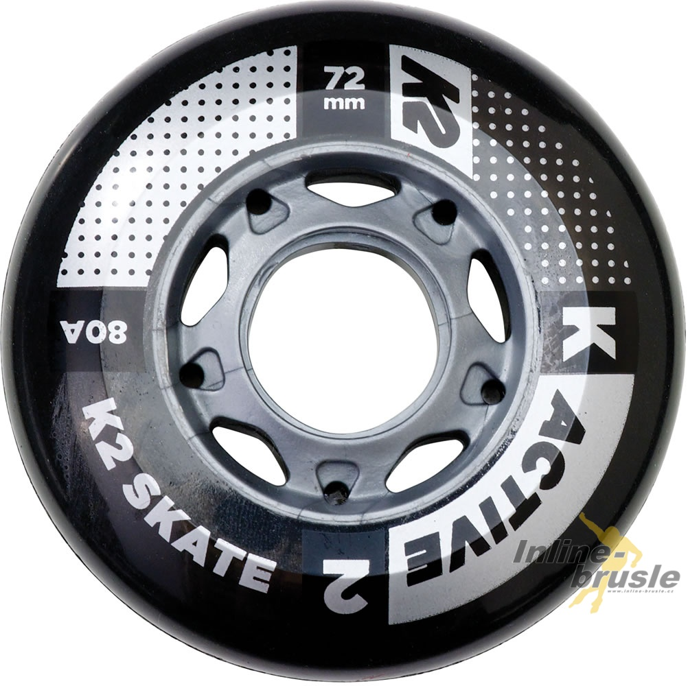 Active 72mm/80A 8-Wheel Pack ILQ 5 Bearing