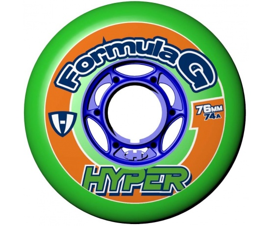 Formula G Era 76mm/74A Green, 4pck