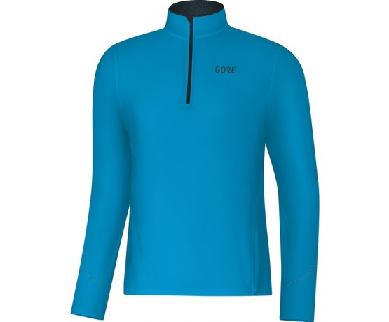 GORE R3 Long Sleeve Zip Shirt-dynamic cyan-XXL