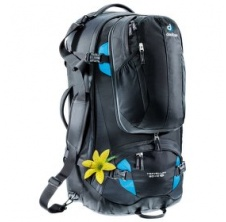Deuter Traveler 60+10 SL (3510015) black-turquoise