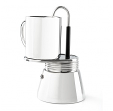Stainless Mini Espresso 4 cup; 296ml