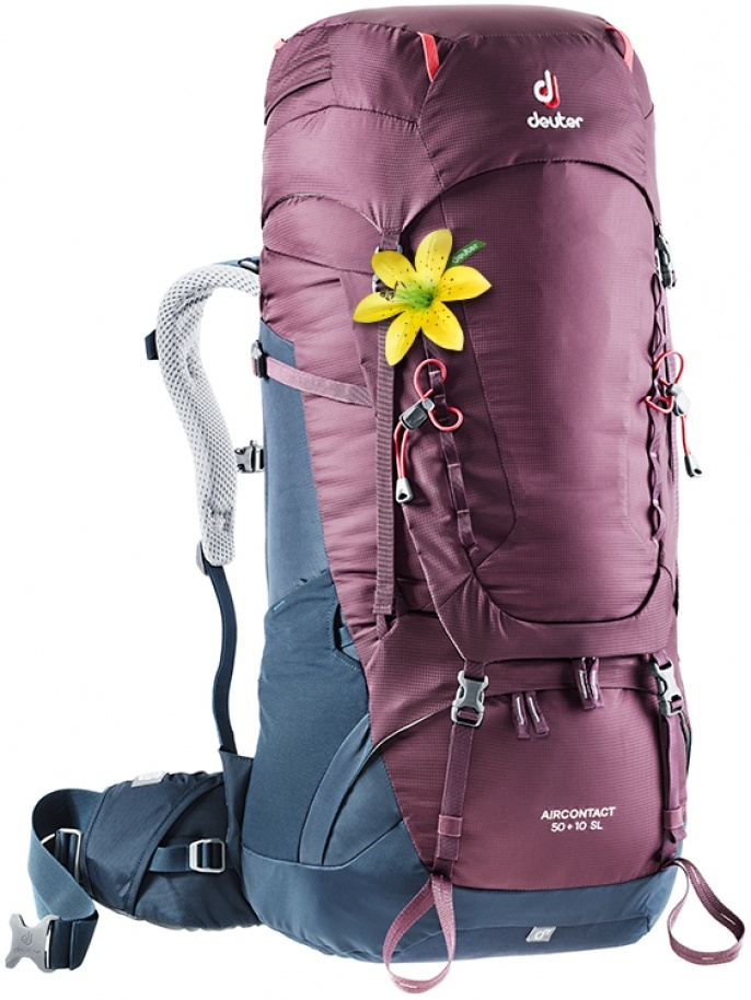 cafaf5bd6 Aircontact 50+10 SL Blackberry-Navy · Deuter