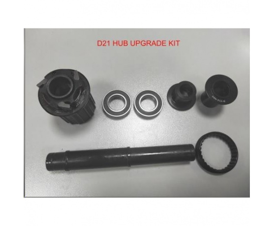 Upgrade kit Vuelta D21 rear hub W/Body,Ratchet,Bearings,End caps and Axle