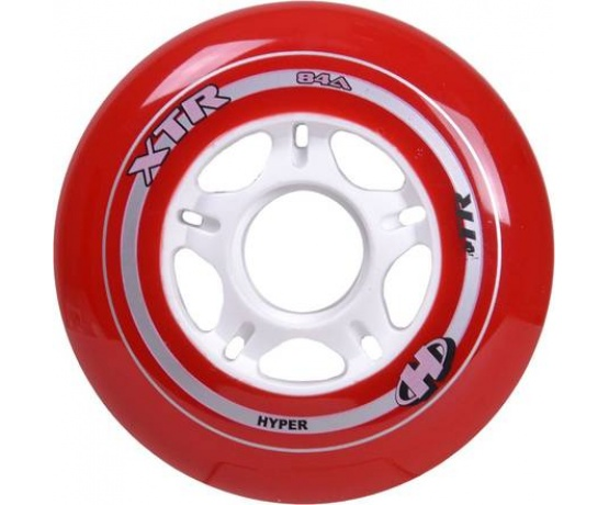 XTR 100mm/84A Red, 8pck